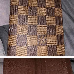 Louis Vuitton Monogram credit Card and cash wallet